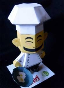 chef-papercraft